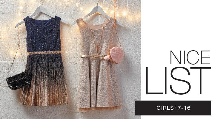 shop girls 7-16