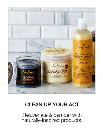 Rejuvenate & pamper with naturally-inspired products, shop bath & body