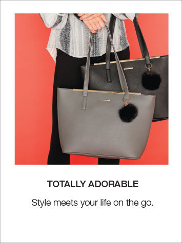 Style meets your life on the go, shop totes