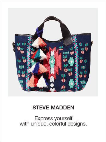 Unique Colorful Steve Madden Handbags