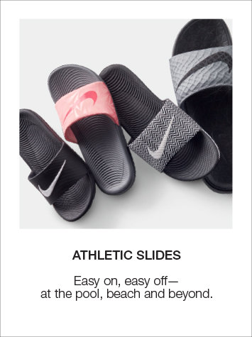 Athletic Sport Slides and Sandals