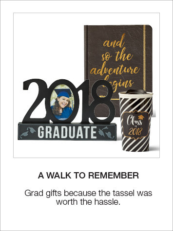 Shop Graduation Gifts and Decor