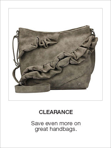 Clearance Handbags & Wallets