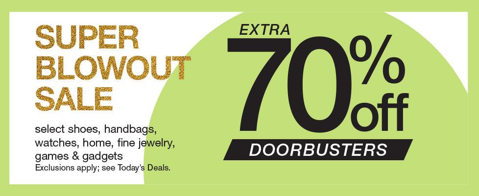Shop 70% OFF Super Blowout Sale at Stage