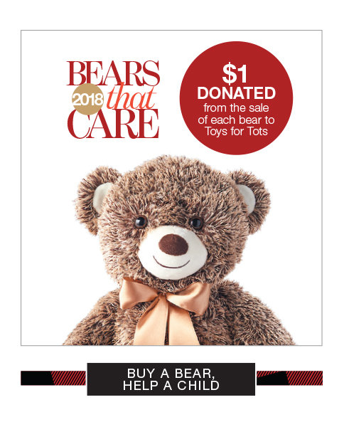 Purchase a Bear That Cares and Help a Child in Need
