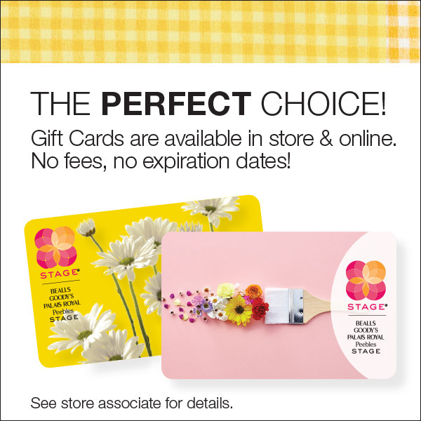 graphic relating to Stage Stores Printable Coupons named Present Playing cards - Point Shops 1 Level Suppliers