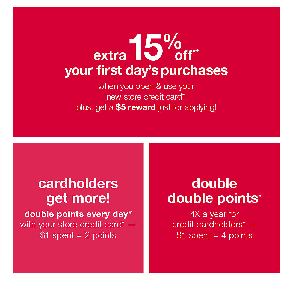 extra 15% off your first day's purchase