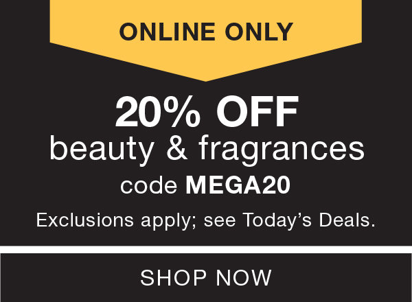 e78a19b1344 20% OFF Beauty   Fragrances - Exclusions Apply