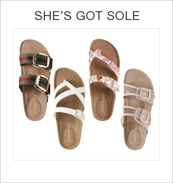 Shop Women's Sandals at Stage