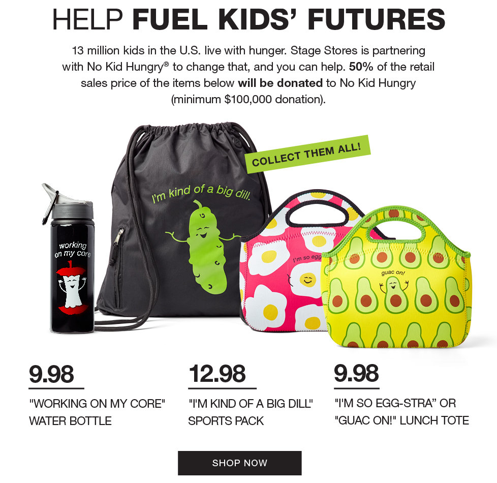 Help Fuel Kids Futures
