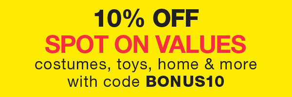 10% OFF Spot On Value