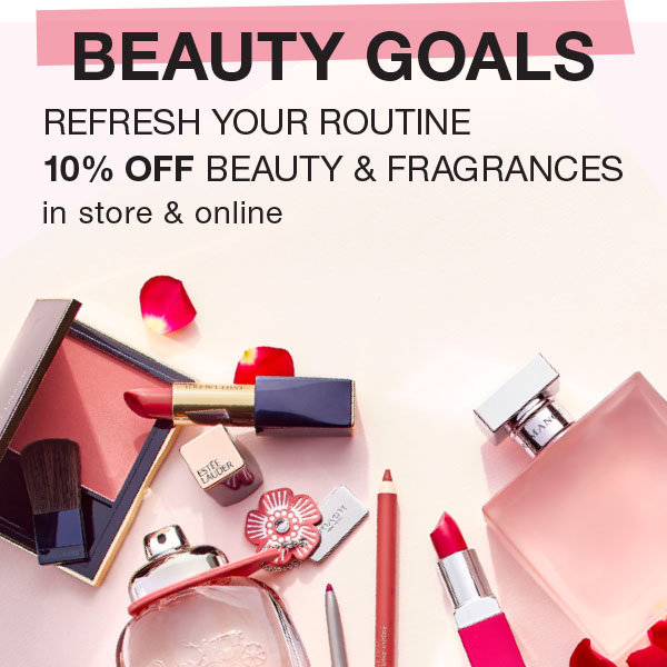 Shop 10% OFF Beauty & Fragrances at Stage