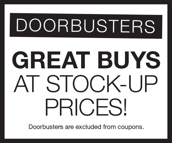 Shop Great Doorbuster Deals Here at Stage