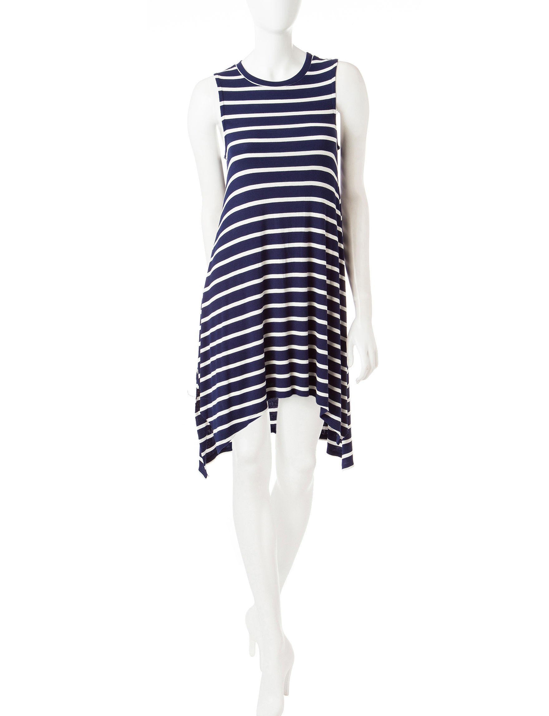 Almost Famous Navy Everyday & Casual Shift Dresses