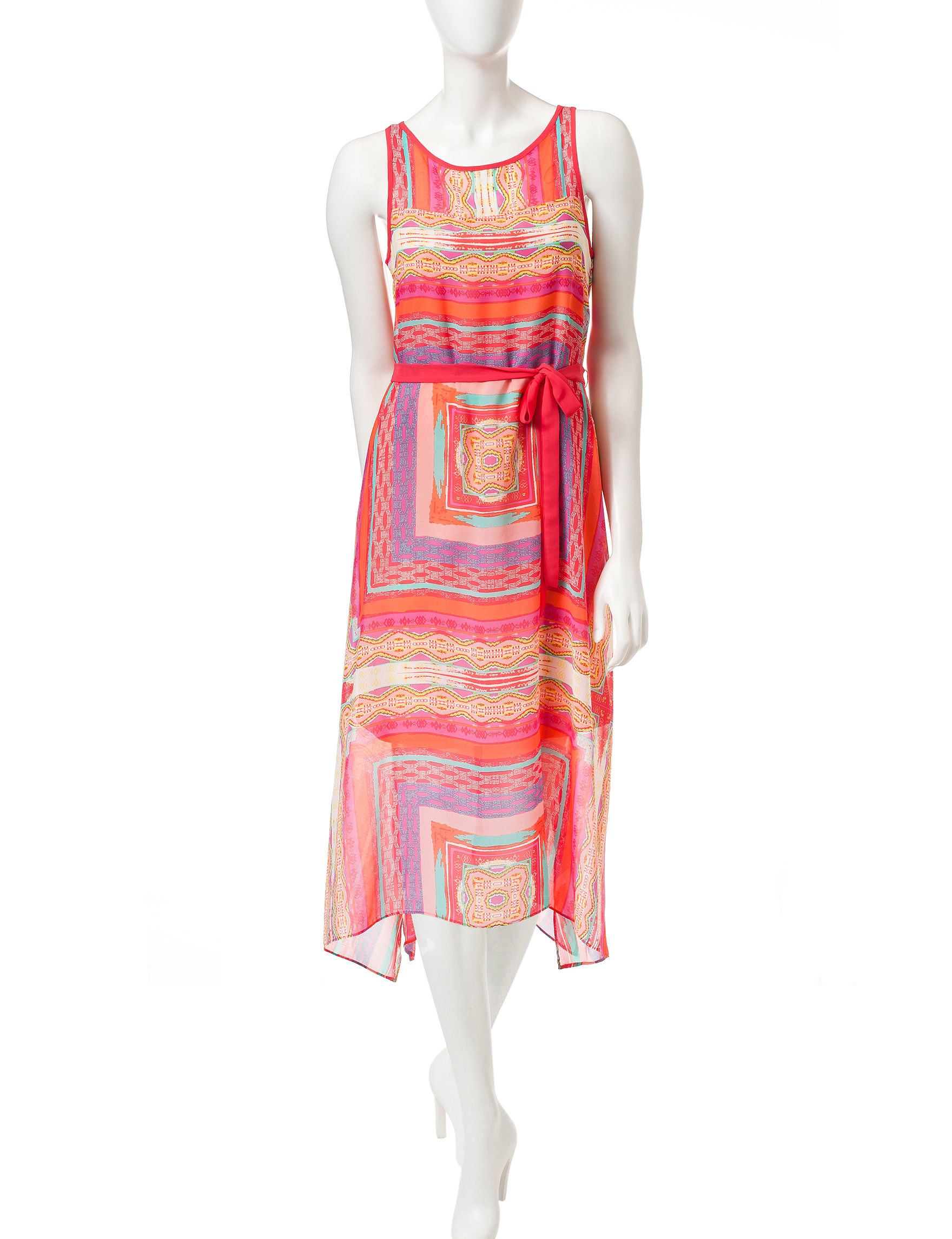 Robbie Bee Pink A-line Dresses