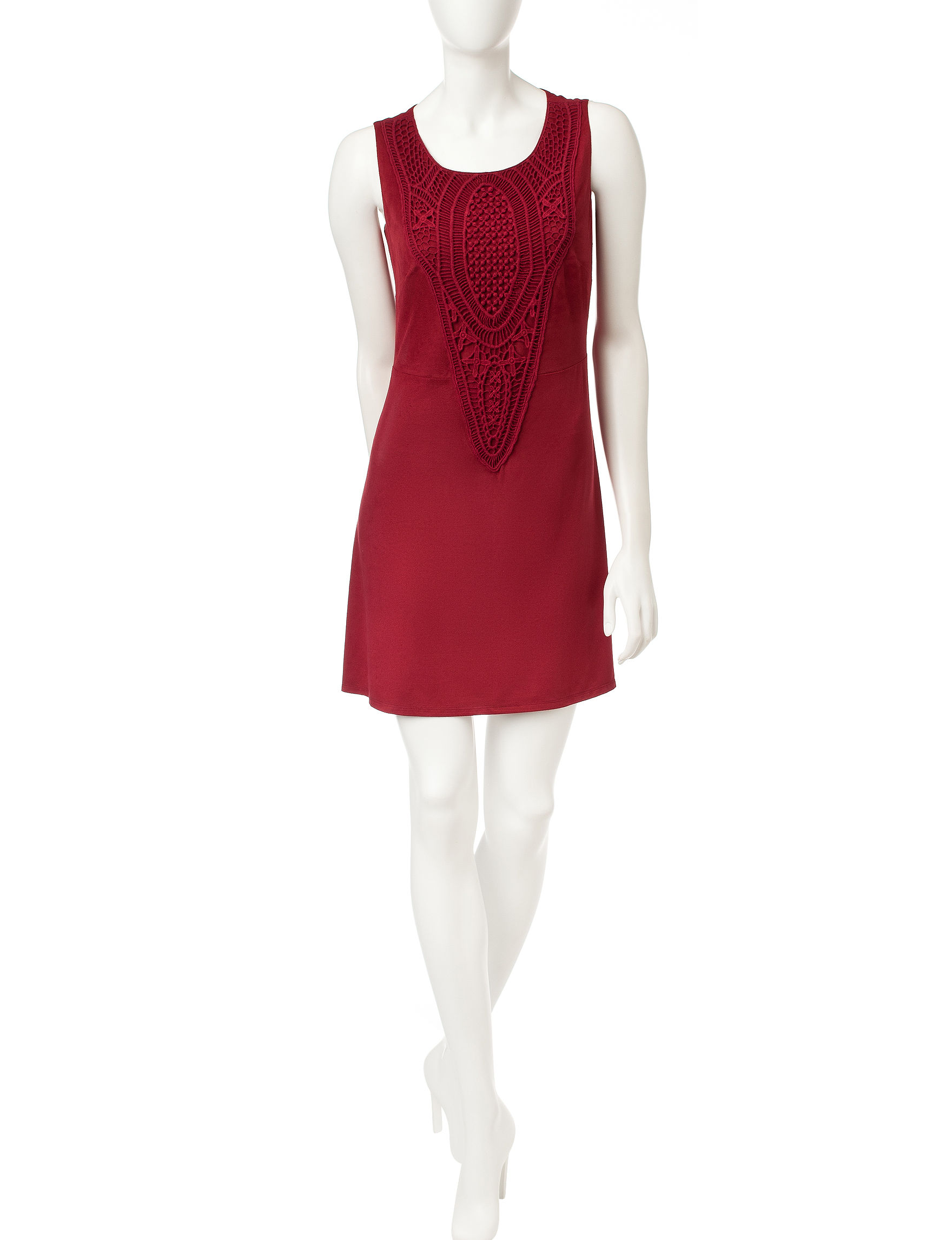 Signature Studio Wine Shift Dresses