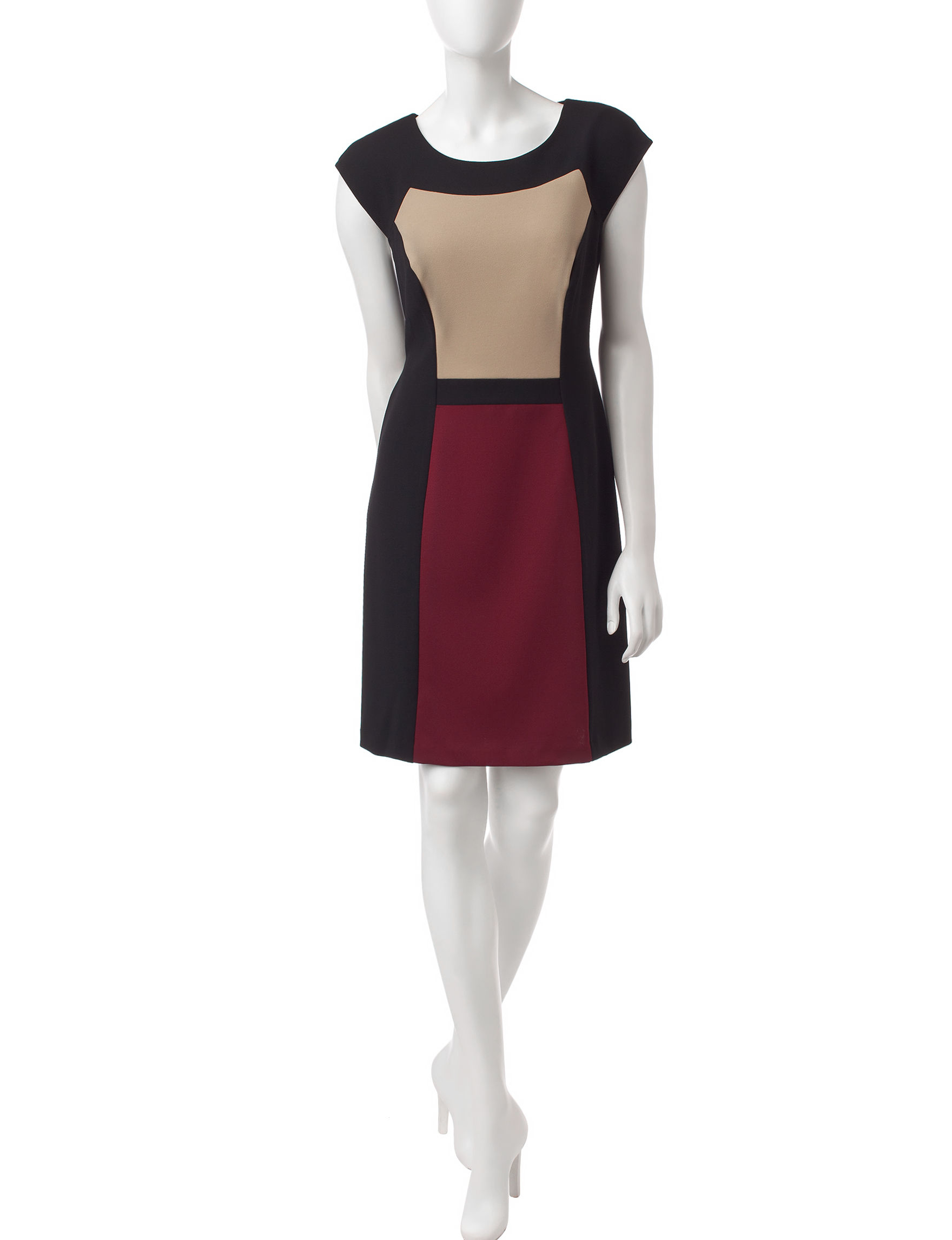 Connected Wine Everyday & Casual Sheath Dresses