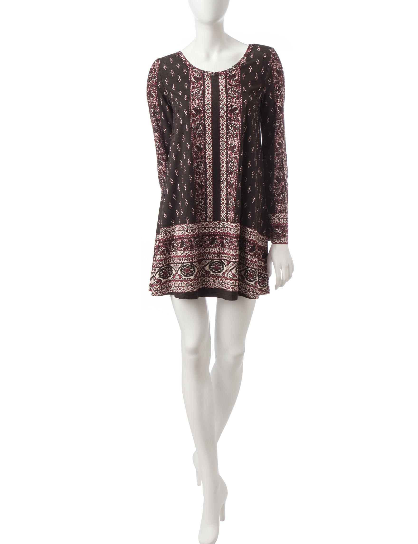 Heart Soul Plum Everyday & Casual Shirt Dresses