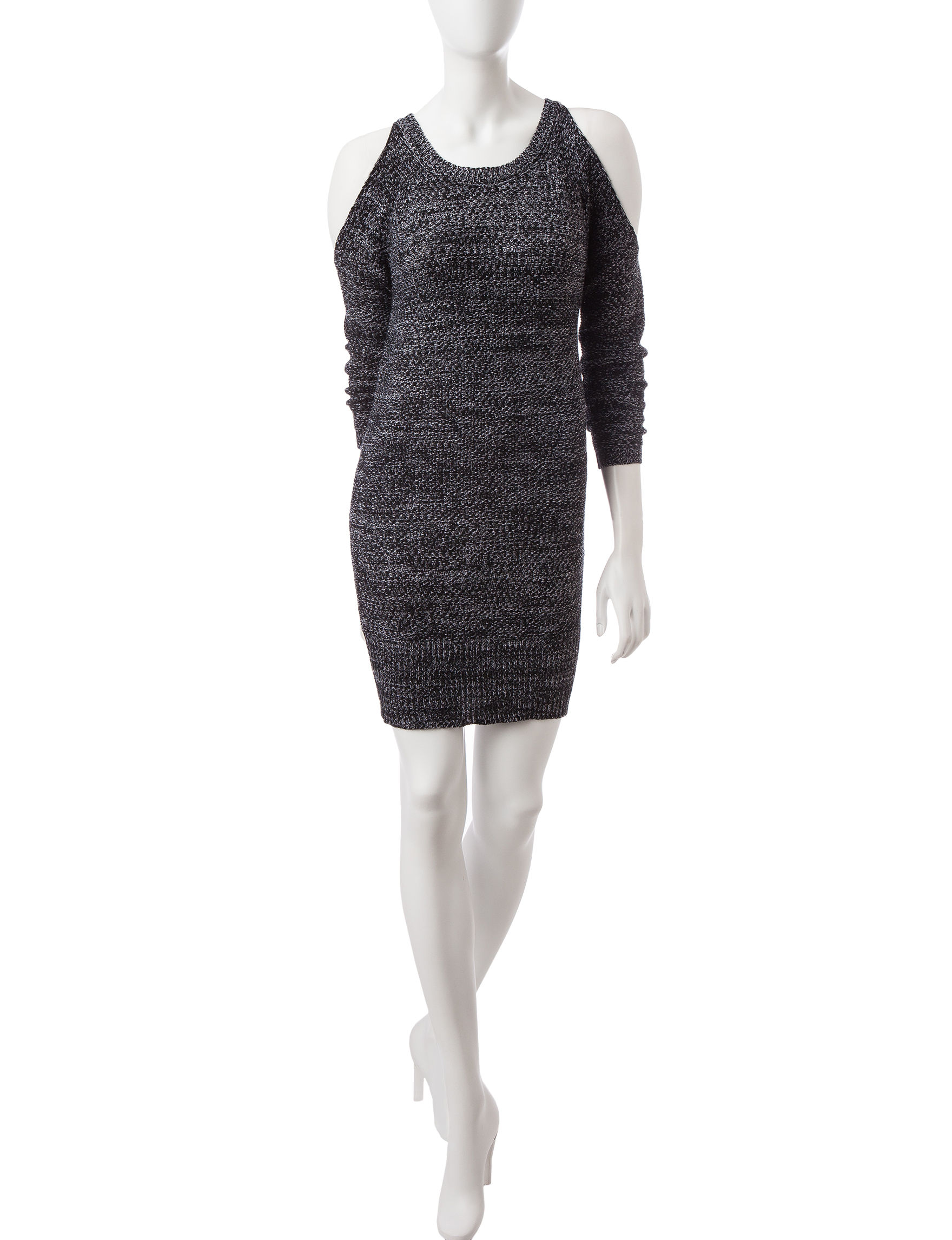 Almost Famous White Everyday & Casual Sweater Dresses