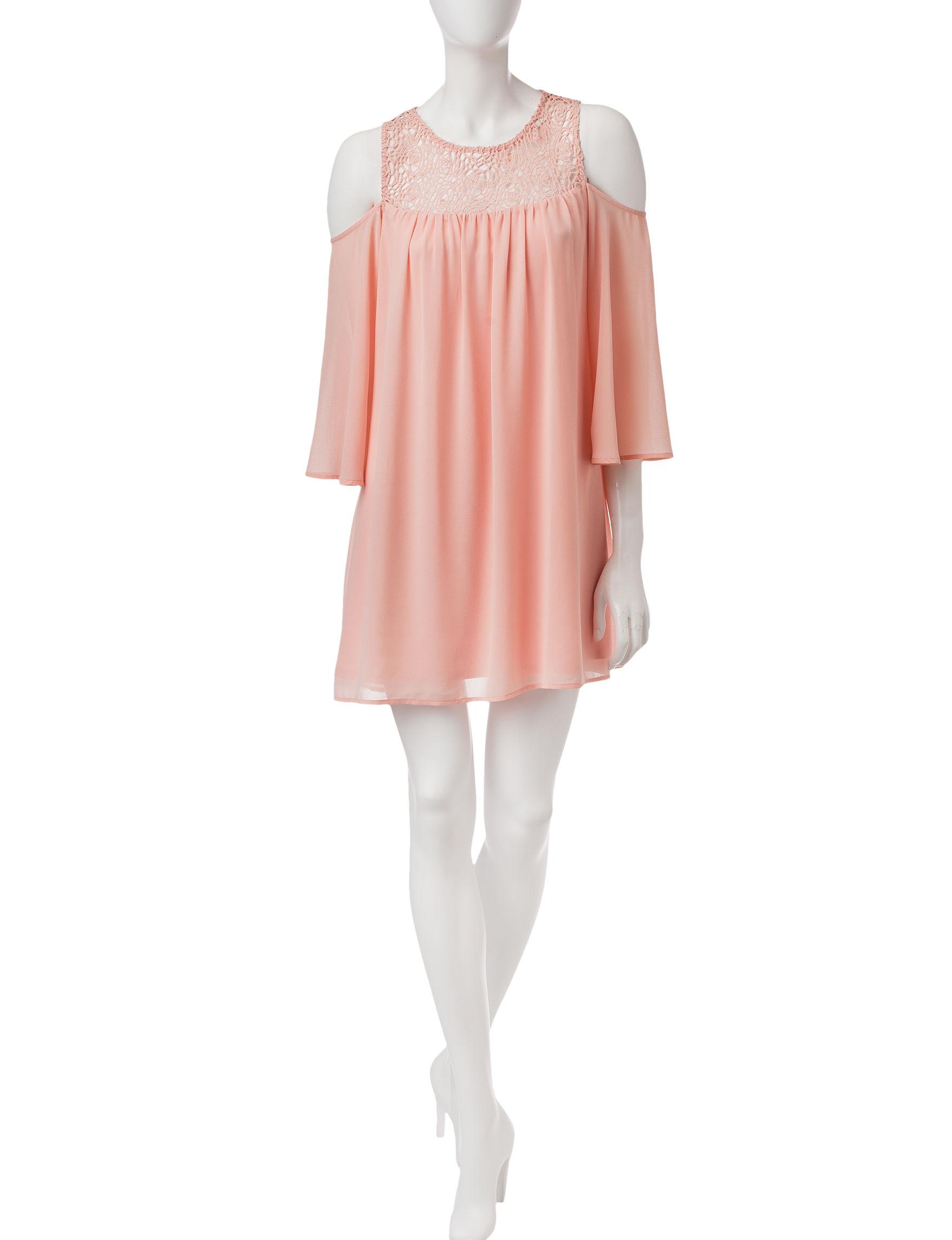 Heart Soul Blush Everyday & Casual Shift Dresses