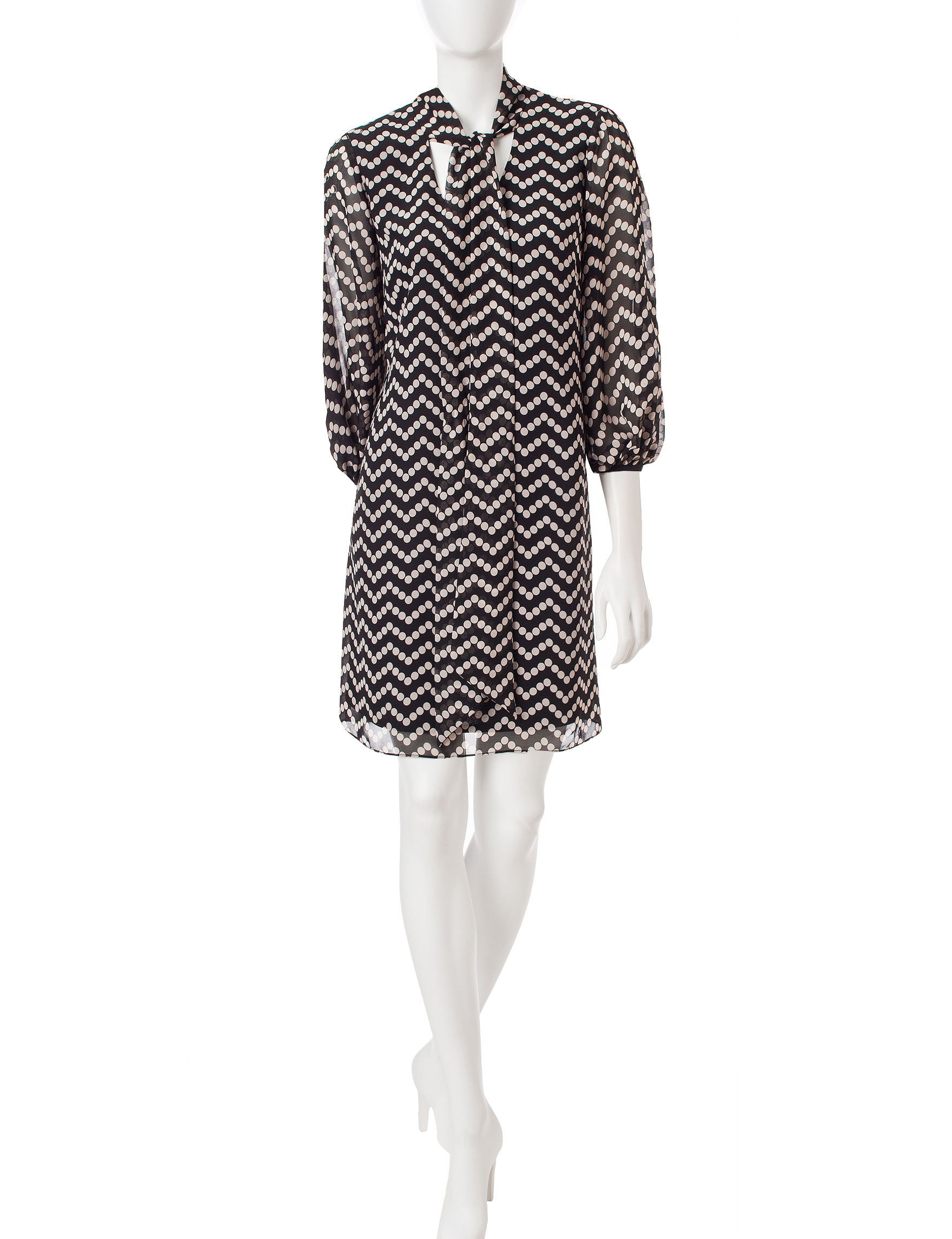 Robbie Bee White Everyday & Casual Shift Dresses