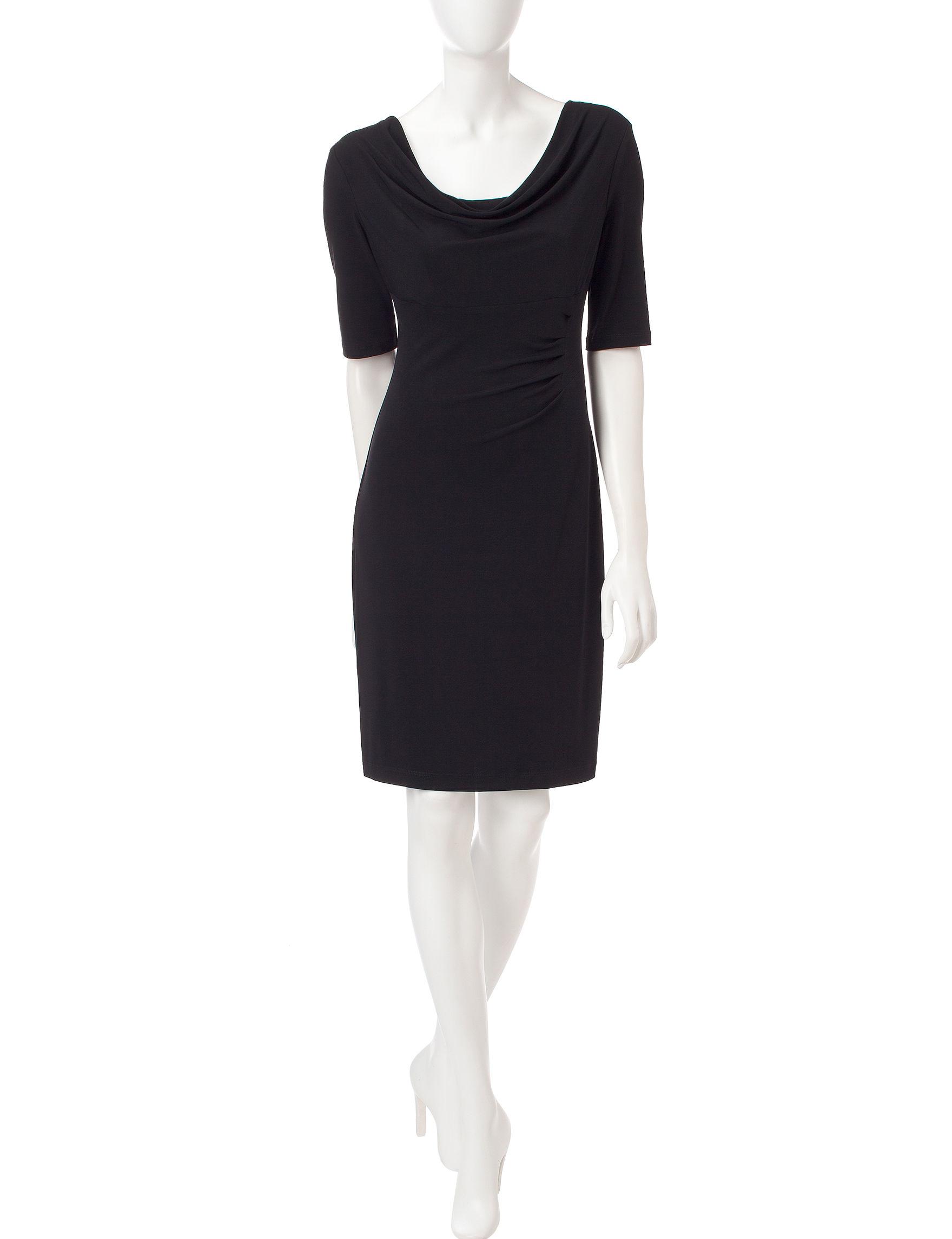 Connected Black Evening & Formal Sheath Dresses