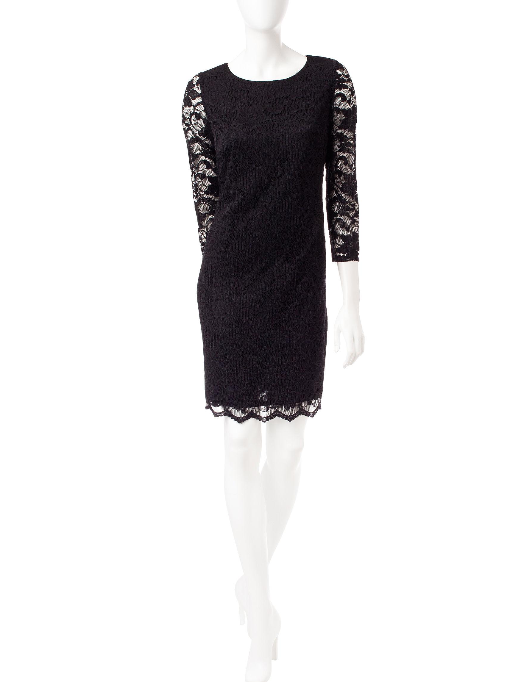 Nine West Black Everyday & Casual Sheath Dresses