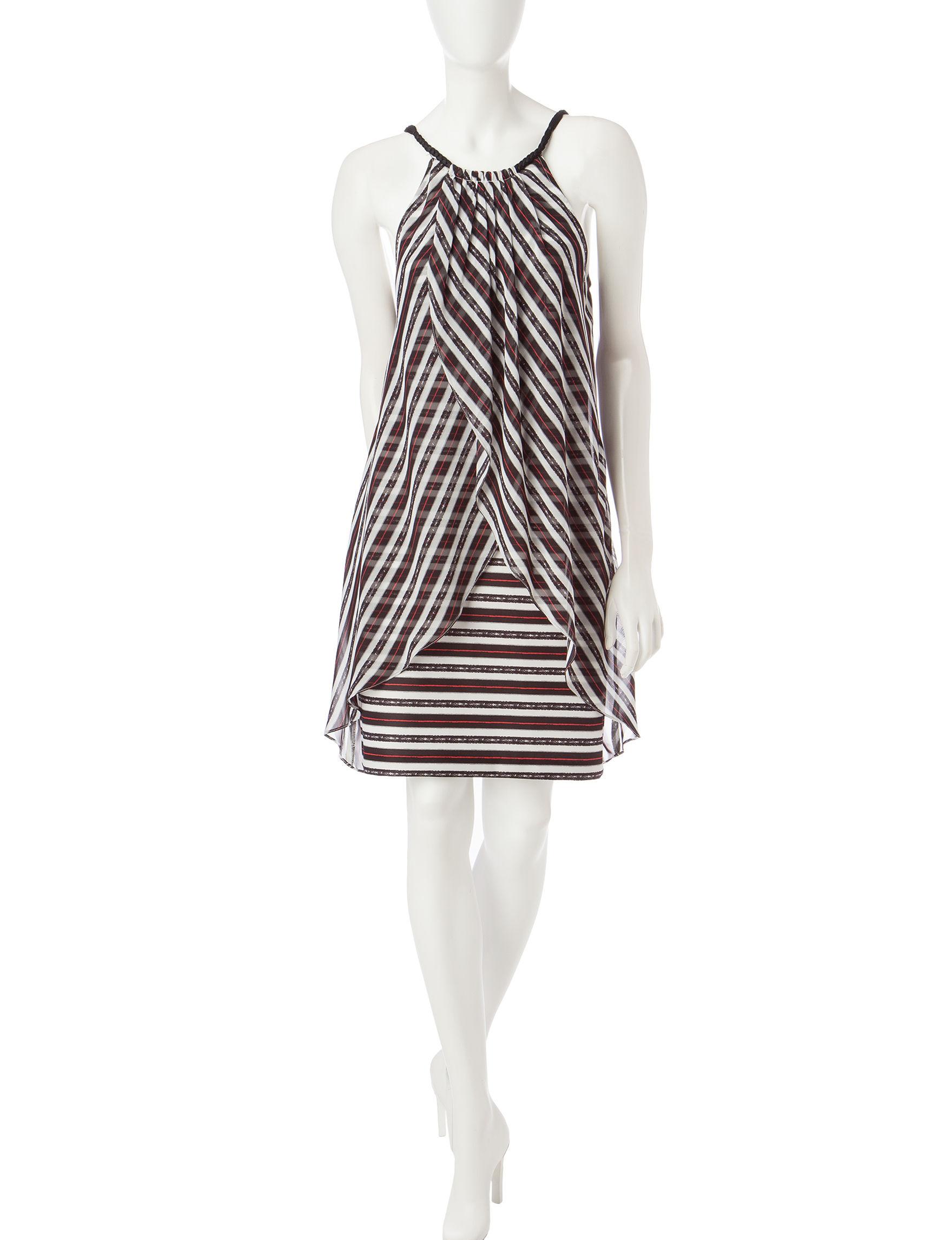 S.L. Fashions Black Everyday & Casual Shift Dresses