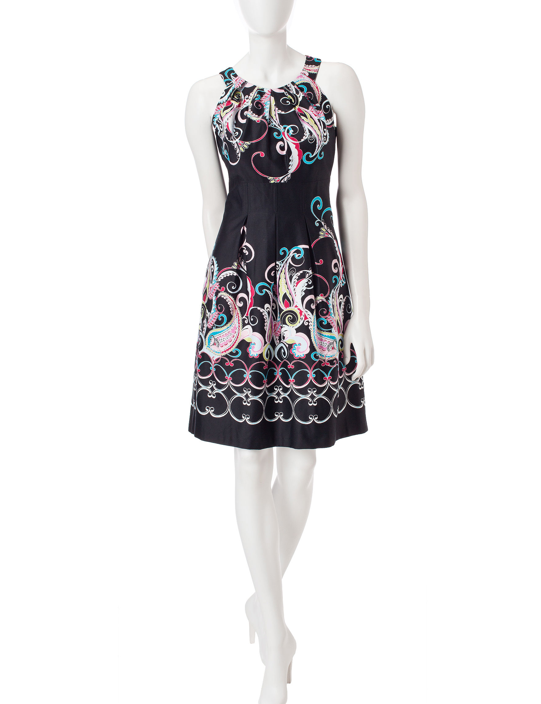 Nine West Pink Everyday & Casual A-line Dresses Fit & Flare Dresses