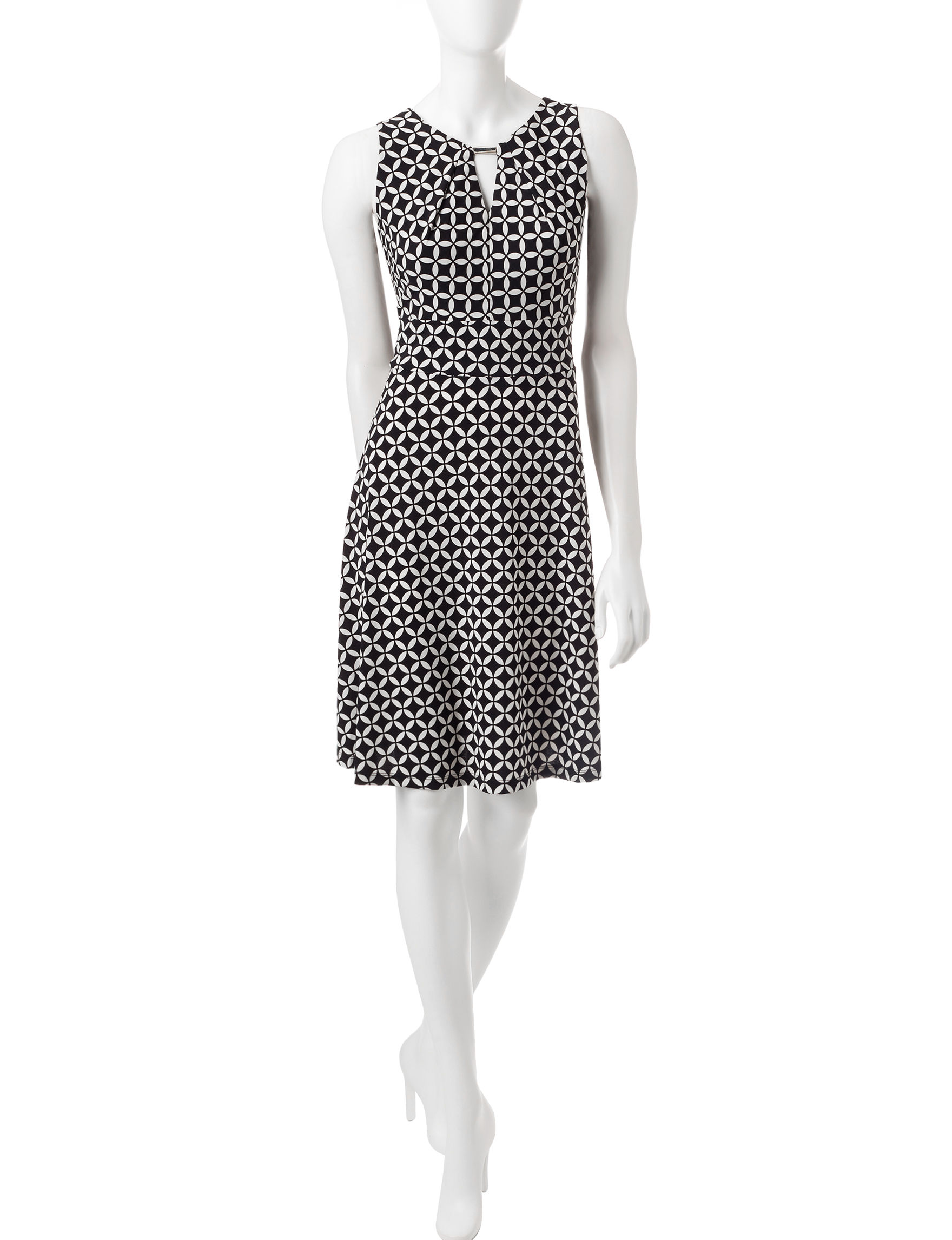 Chetta B Black Everyday & Casual A-line Dresses Fit & Flare Dresses