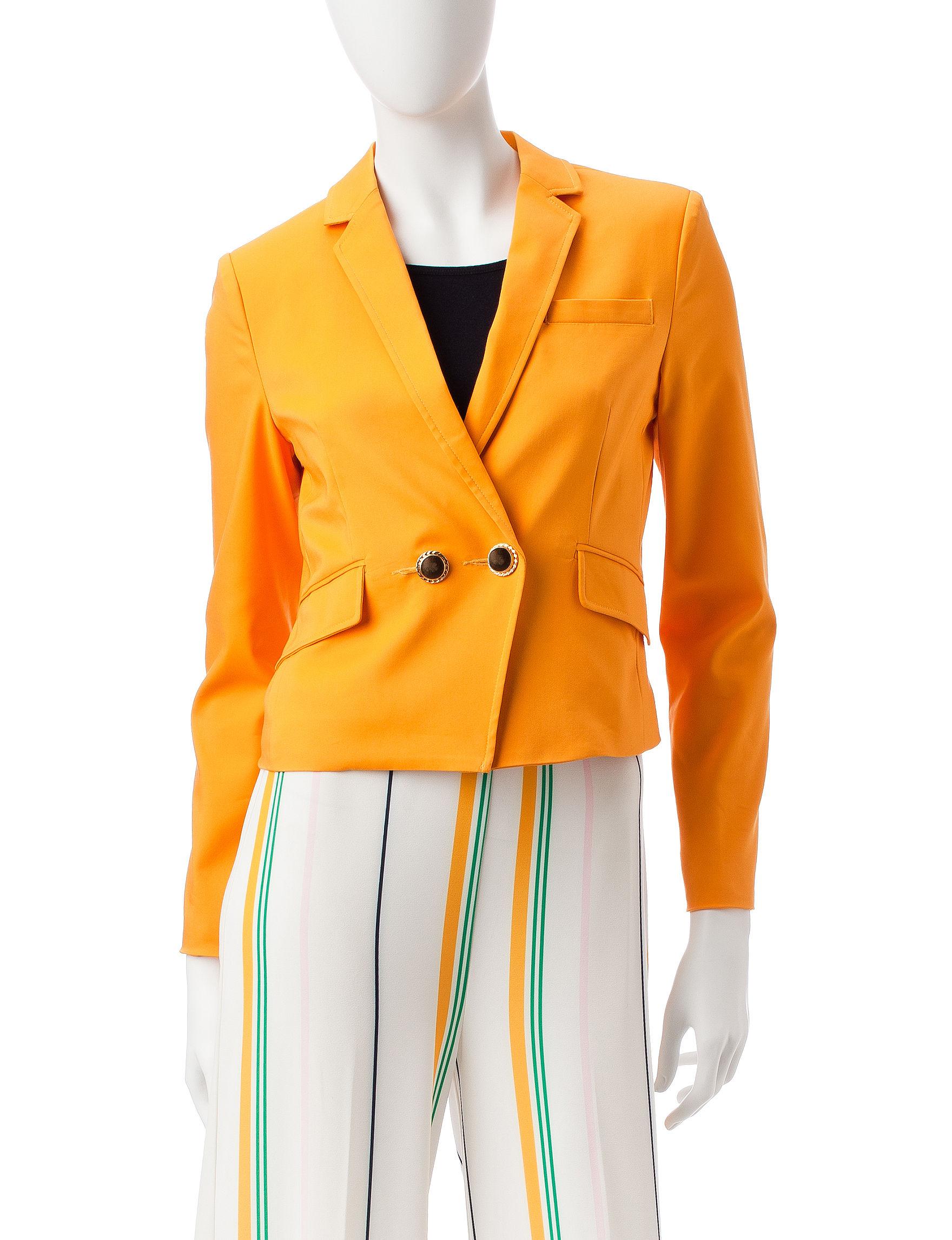 XOXO Gold Lightweight Jackets & Blazers
