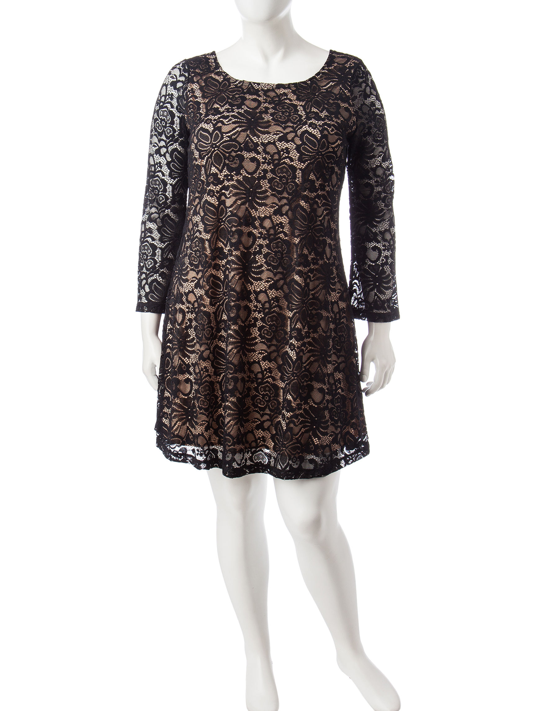 Liberty Love Black Cocktail & Party Everyday & Casual Shift Dresses