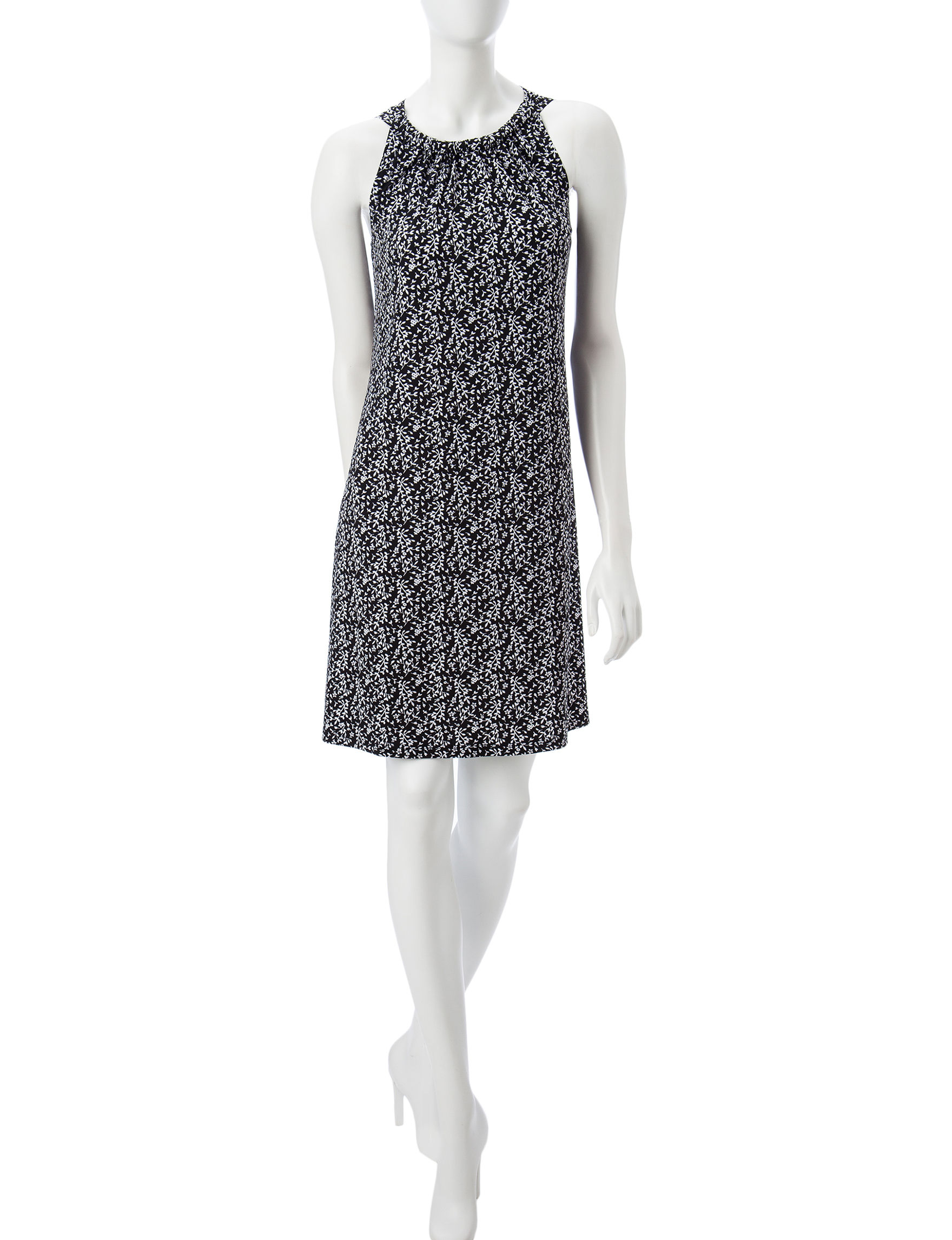 MSK Grey Everyday & Casual Shift Dresses