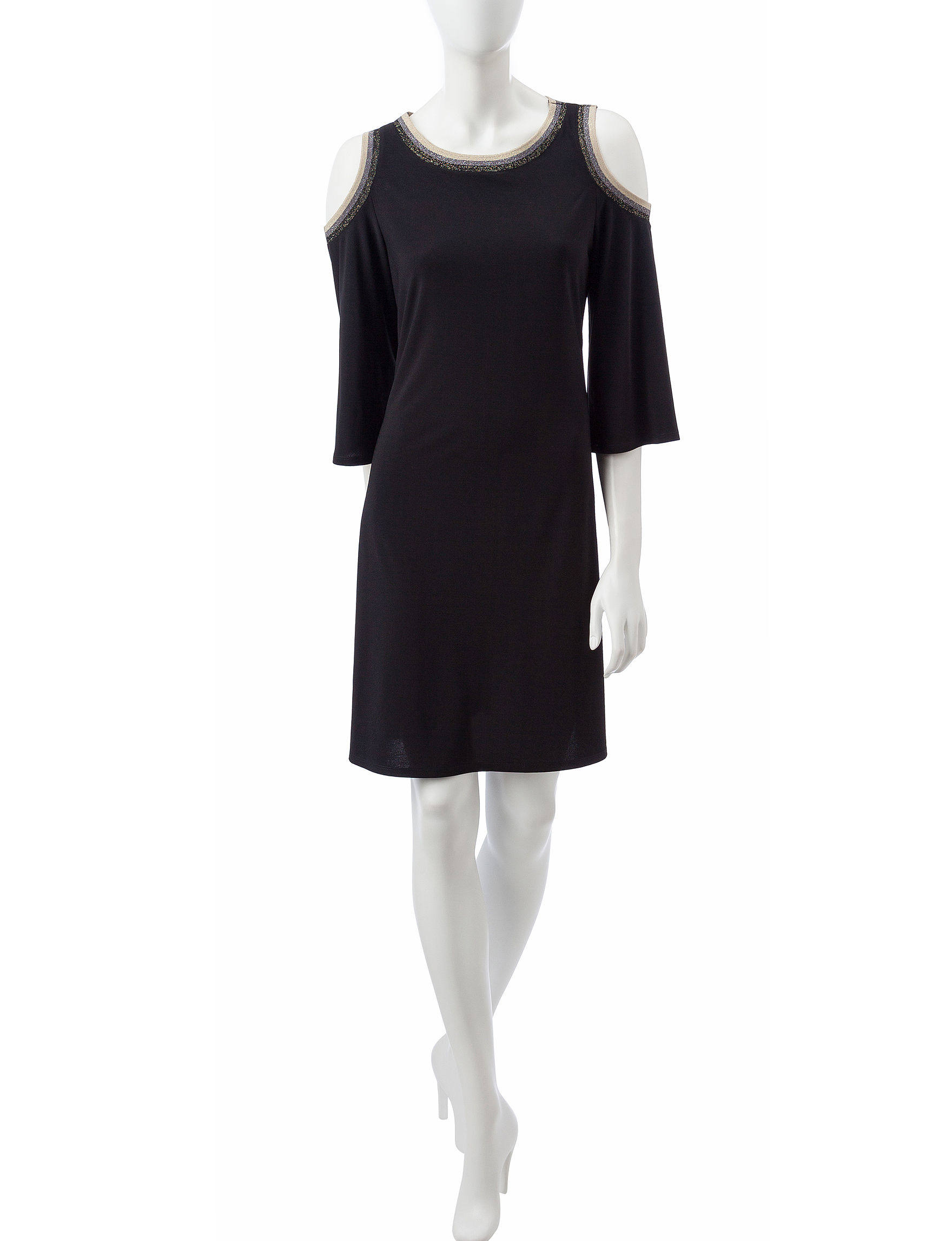 MSK Black Everyday & Casual A-line Dresses