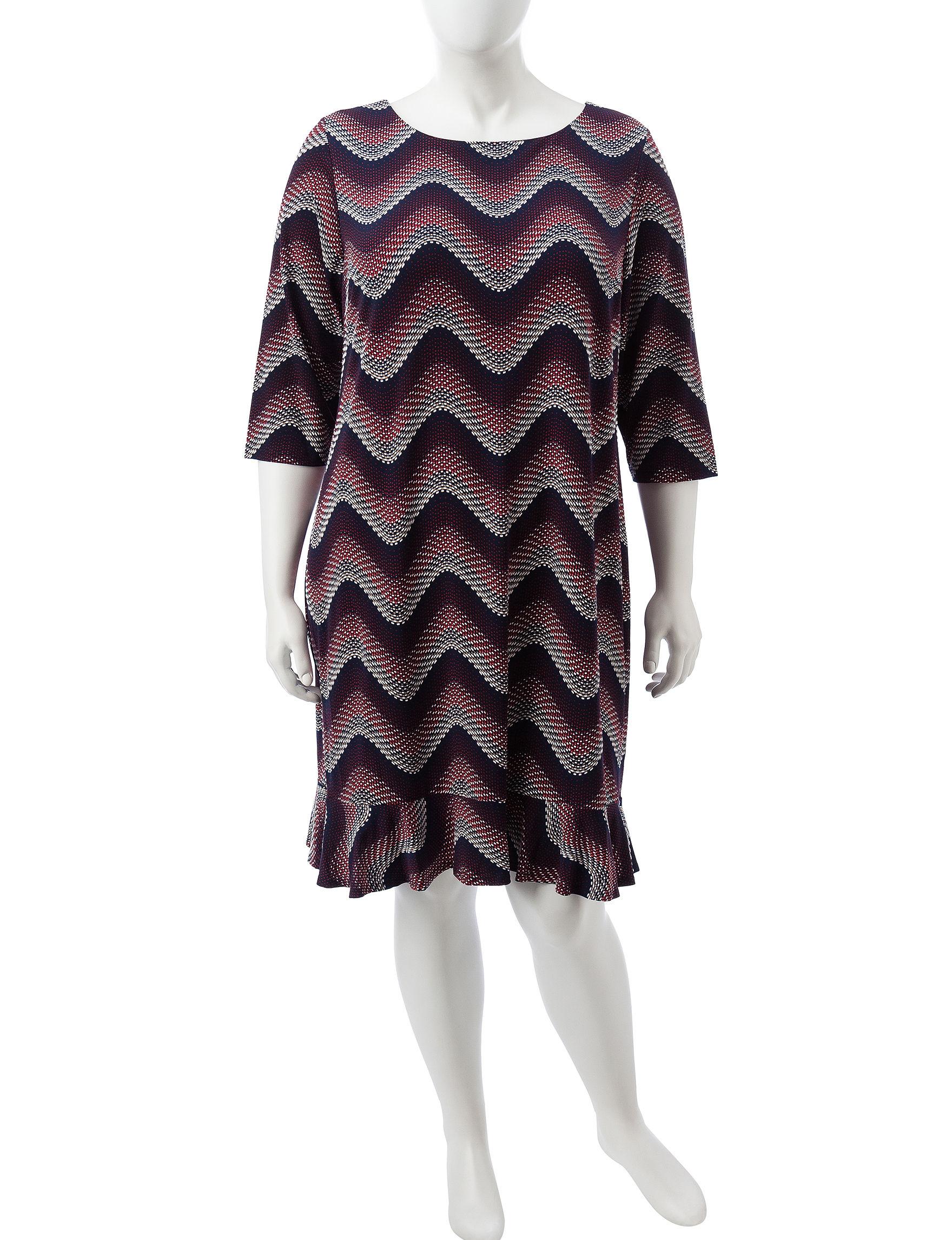 Sandra Darren Multi Everyday & Casual Shift Dresses