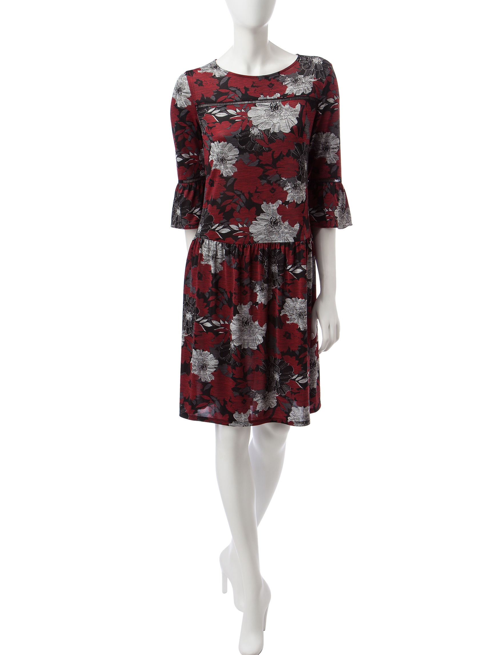 Perceptions Multi Everyday & Casual Shift Dresses