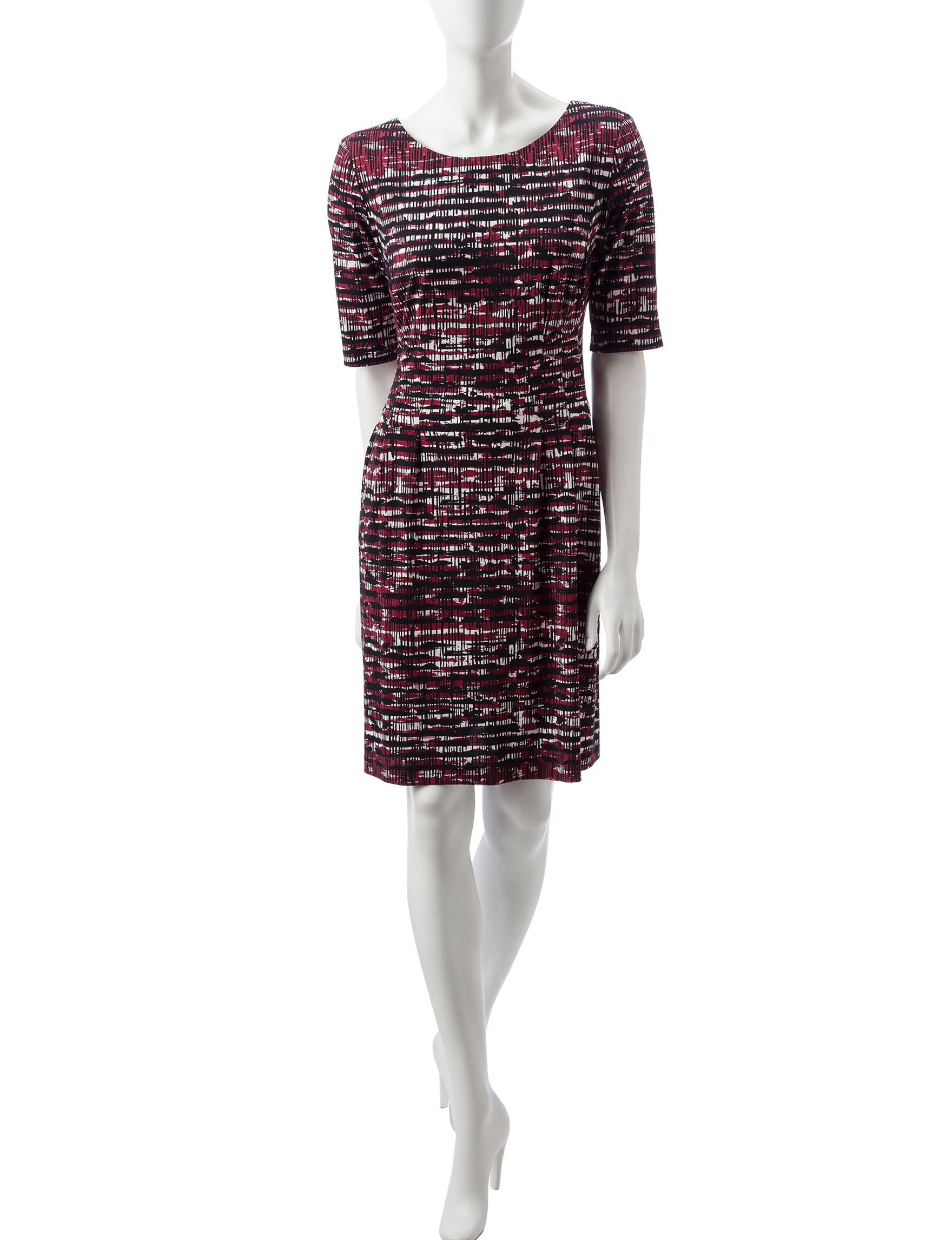 Connected Wine Everyday & Casual A-line Dresses