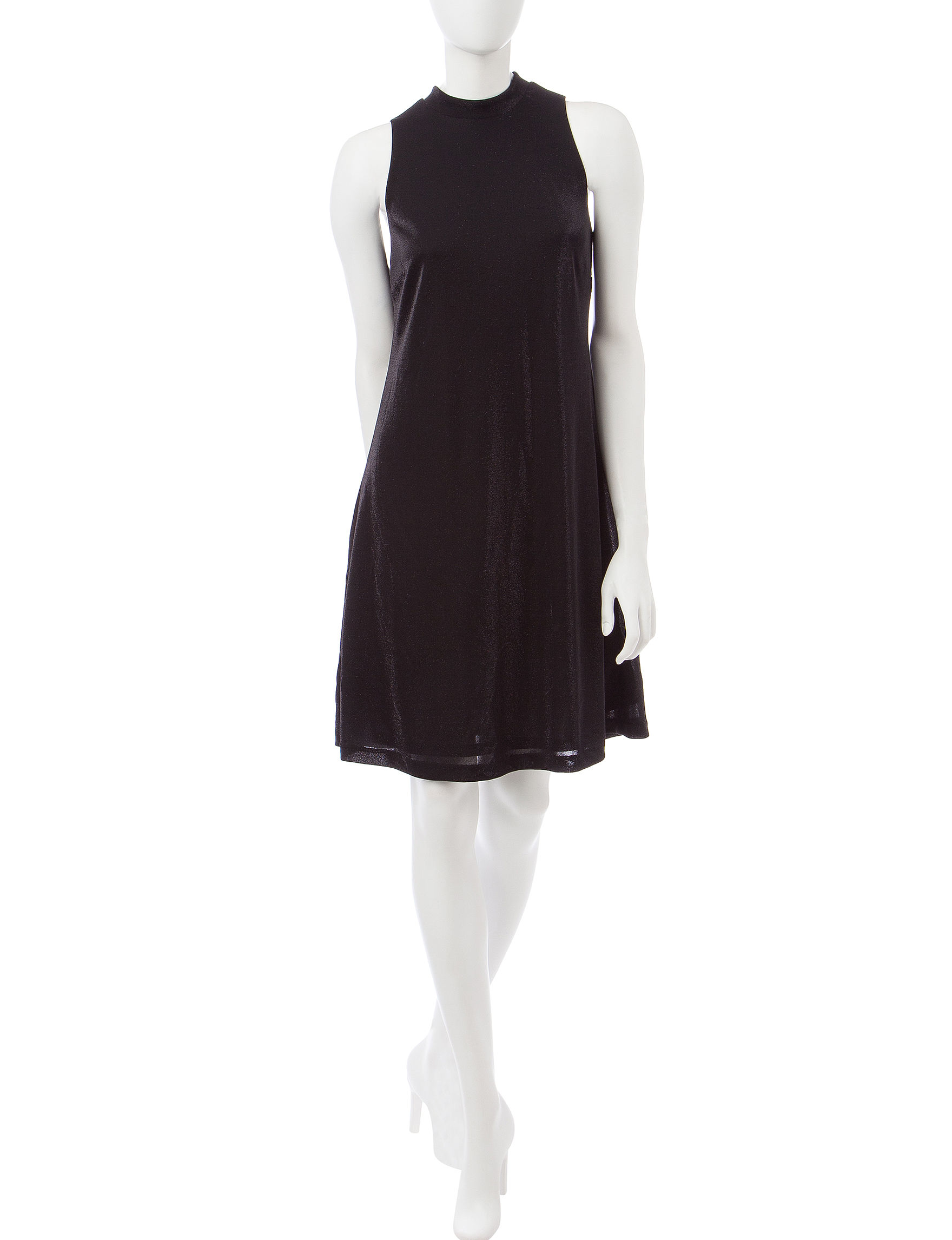 Nine West Black Everyday & Casual A-line Dresses Fit & Flare Dresses