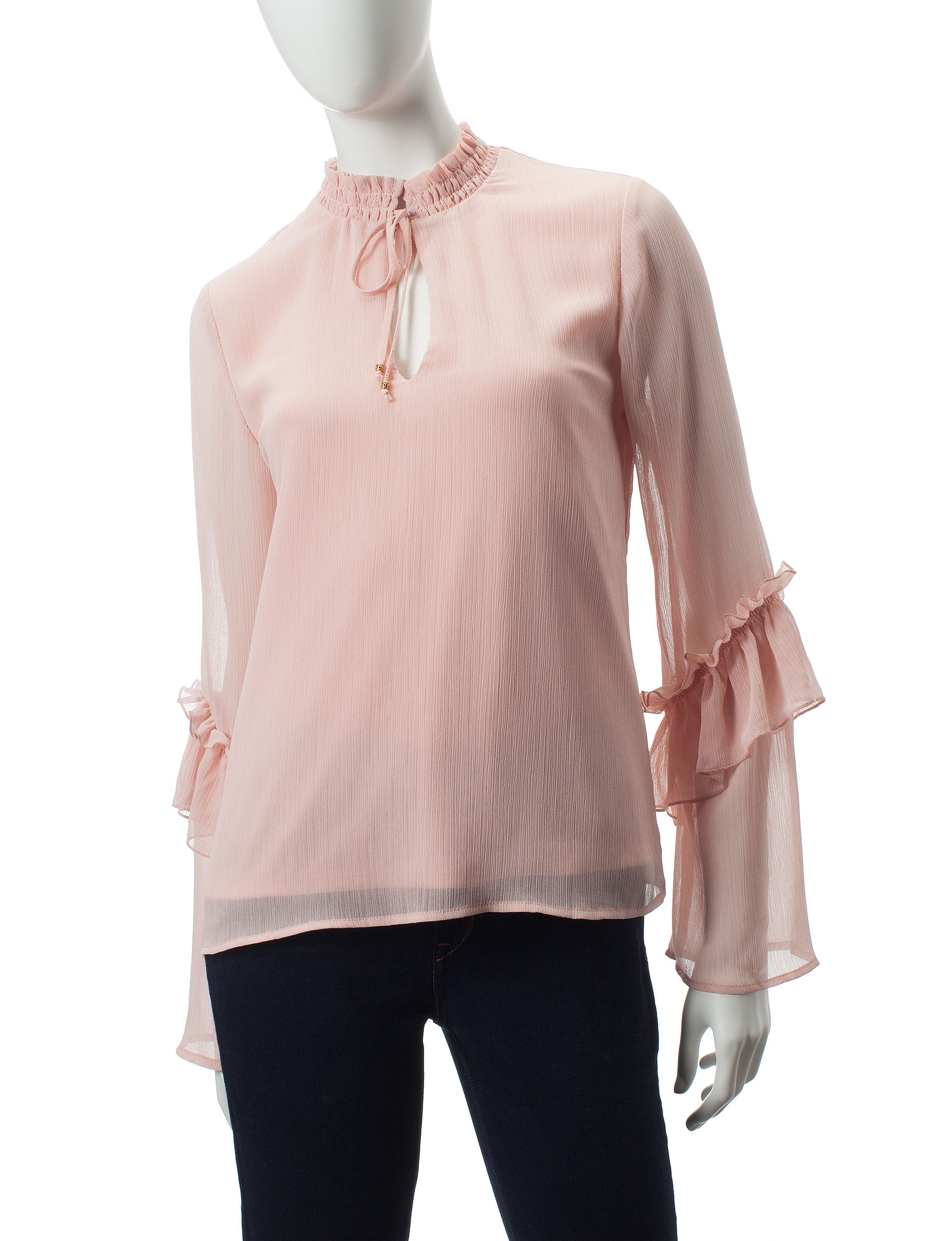 Heart Soul Pink Shirts & Blouses