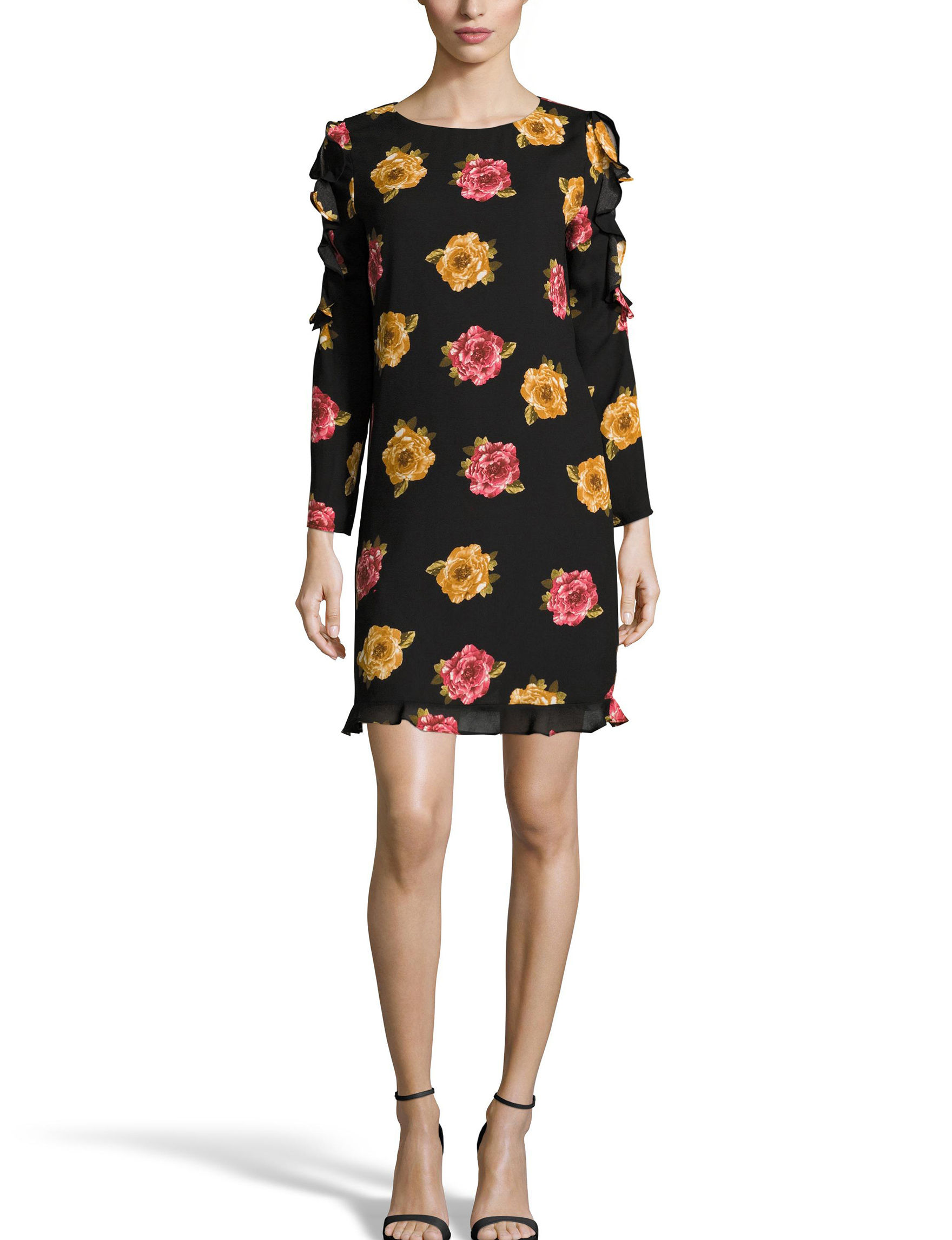 Nicole Miller Black Everyday & Casual Shift Dresses
