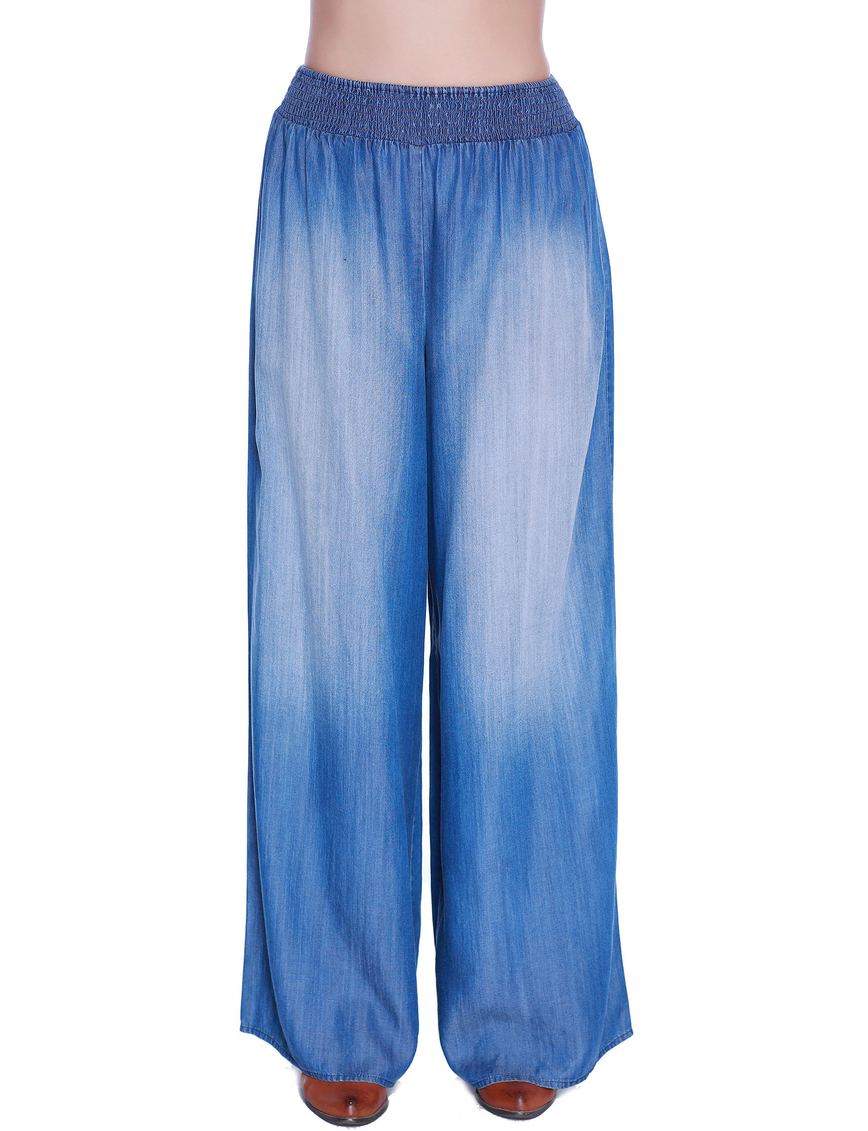 C + J Collections Blue Soft Pants