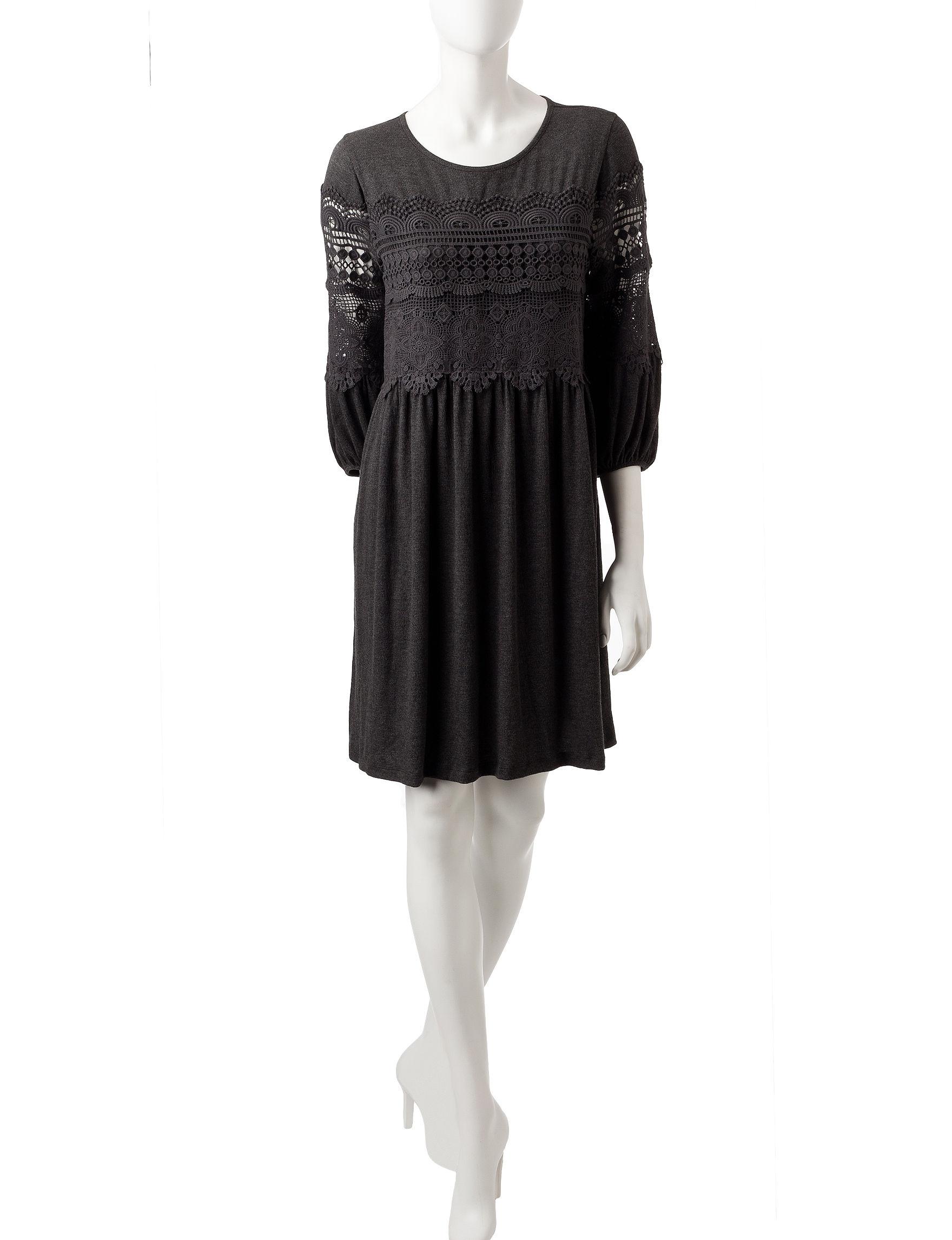 John Paul Richard Grey Everyday & Casual Shift Dresses
