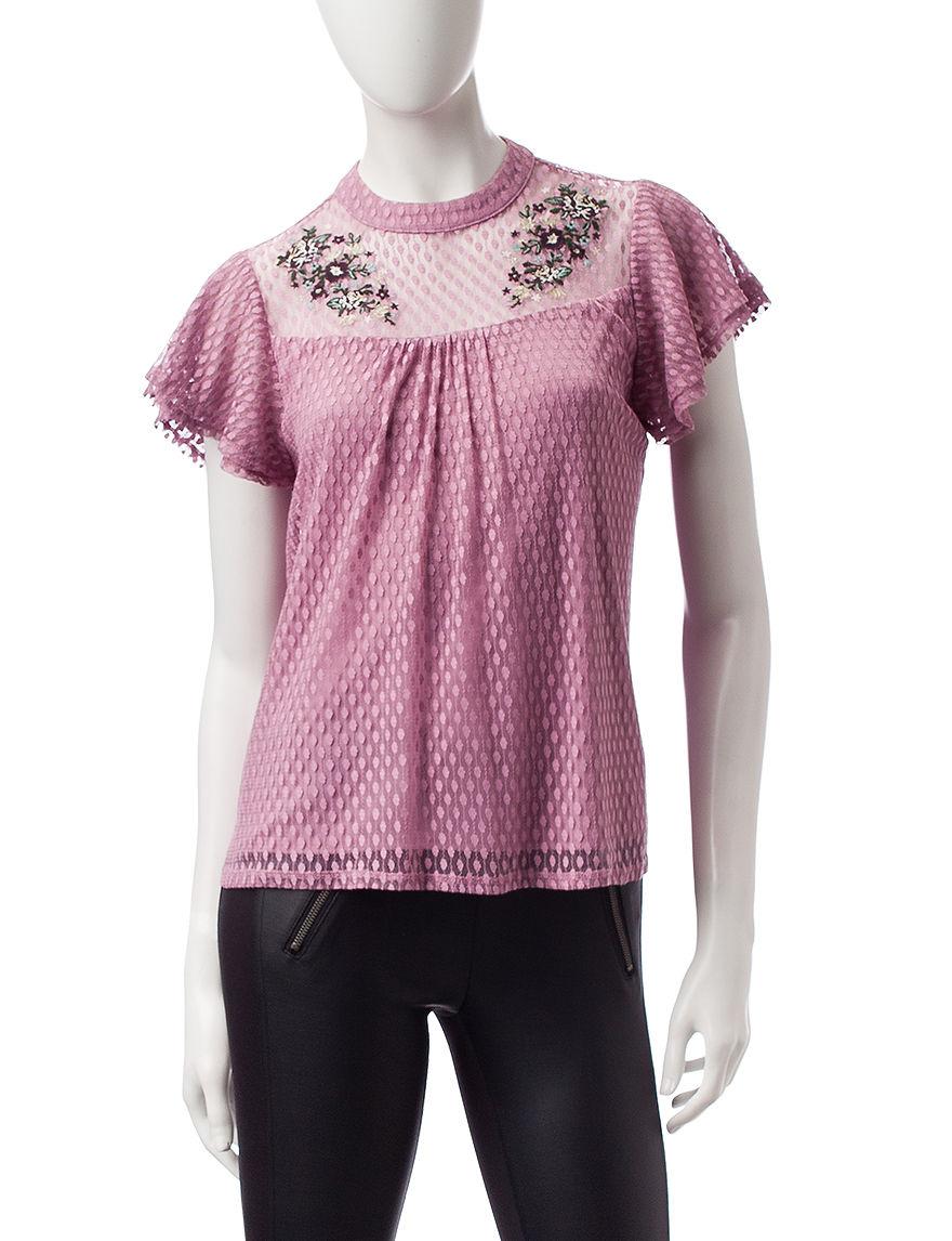 Heart Soul Rose Shirts & Blouses