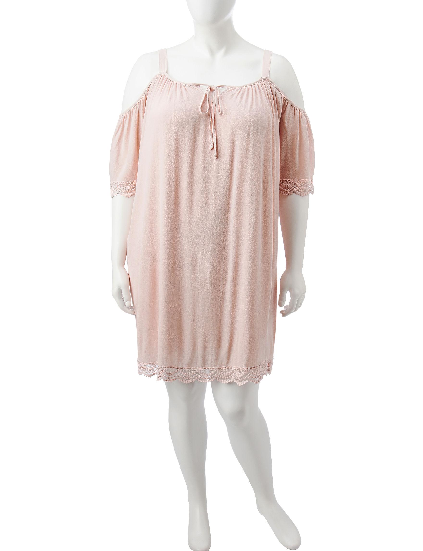 Liberty Love True Mauve Everyday & Casual Shift Dresses