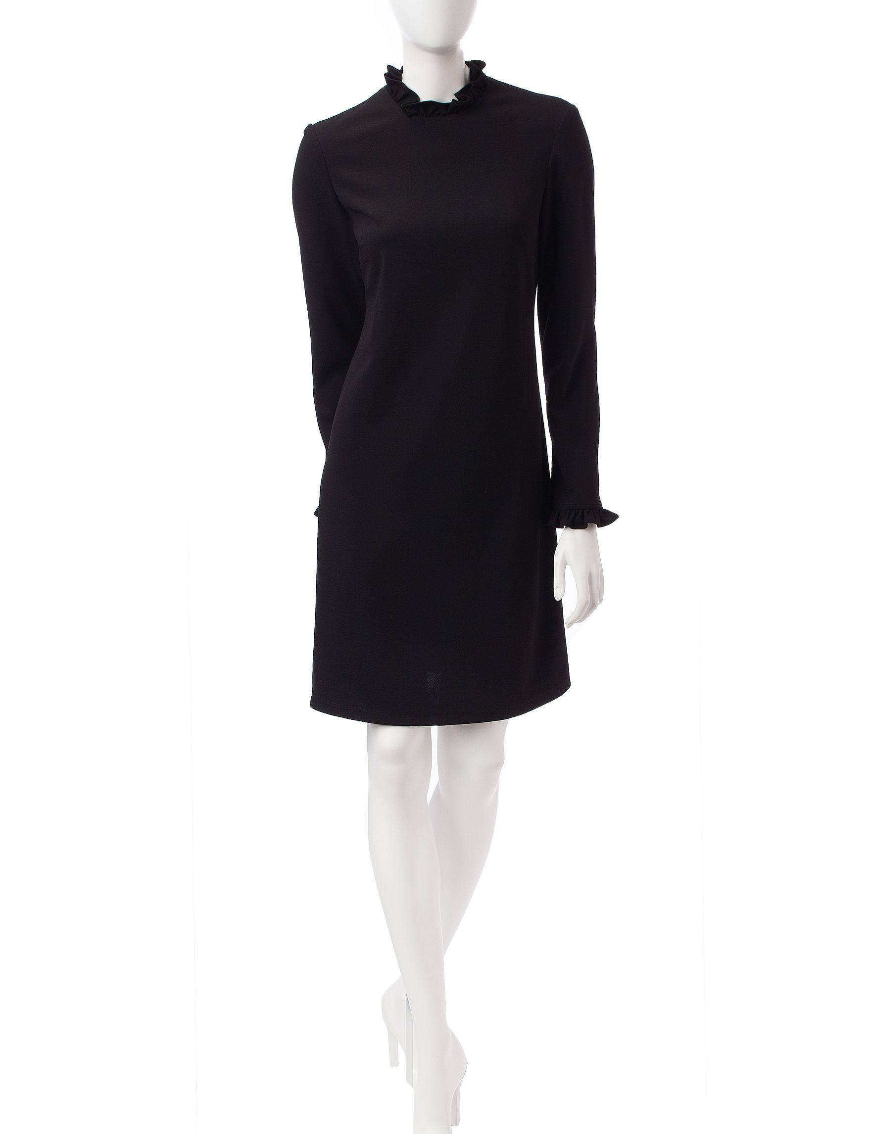 Ronni Nicole Black Everyday & Casual Shift Dresses