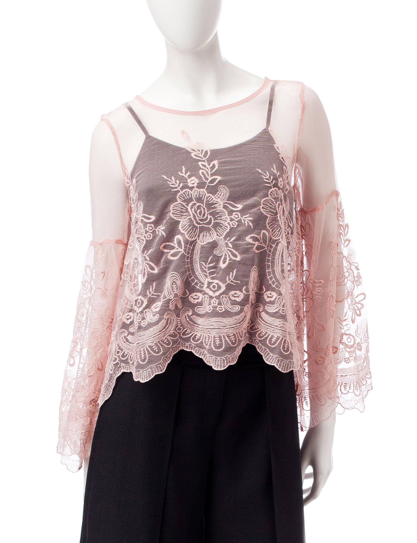 My Michelle Blush Shirts & Blouses