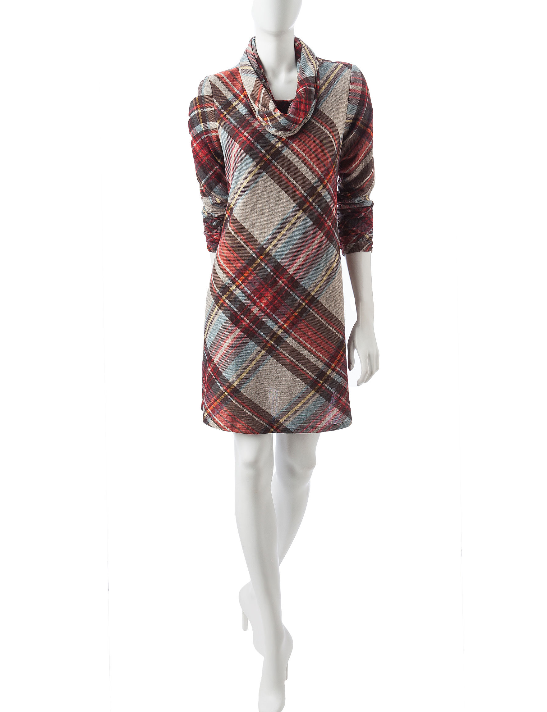 Madison Leigh Red Everyday & Casual Sweater Dresses