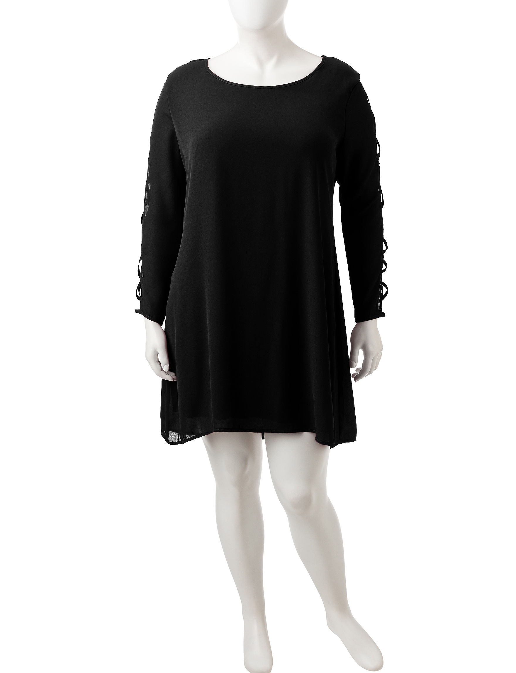 Liberty Love Black Everyday & Casual Shift Dresses
