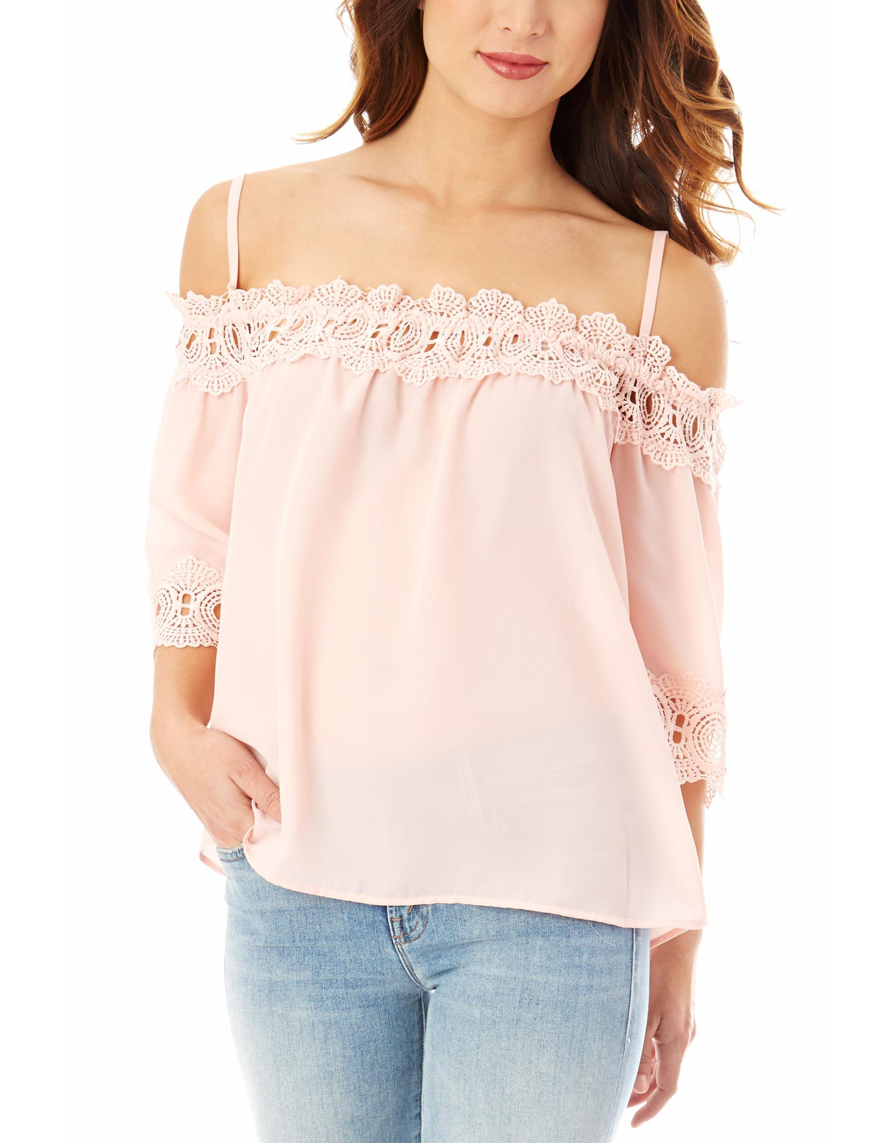 A. Byer Rose Shirts & Blouses