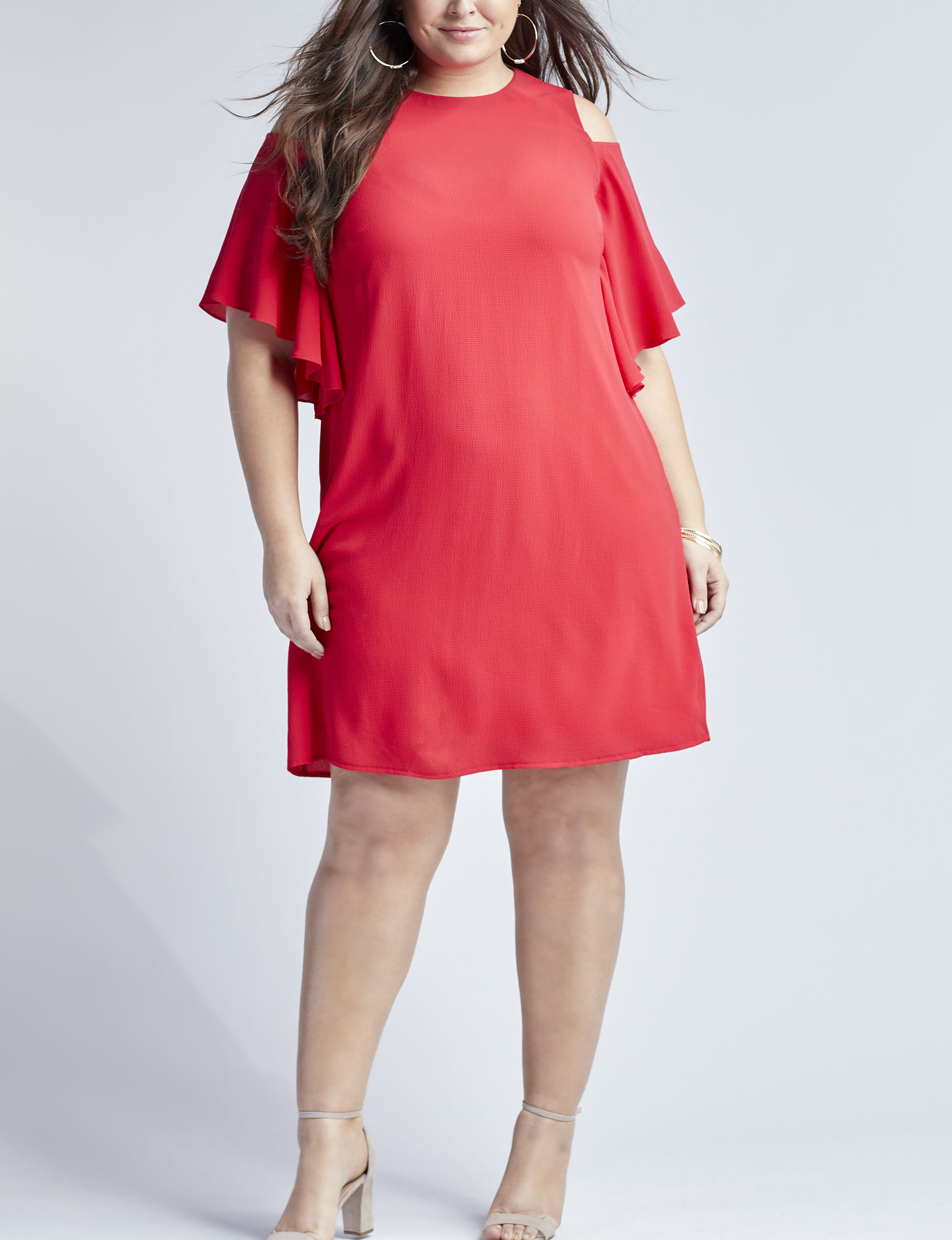 London Times Red Everyday & Casual Sheath Dresses